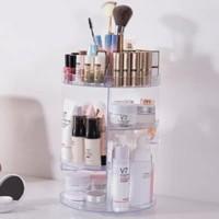 AY Rak Kosmetik Putar 360 Desktop Stotage Rotate