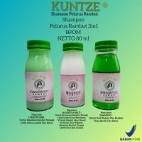 SHAMPOO PELURUS RAMBUT PERMANEN 3IN1 BY KUNTZE BPOM