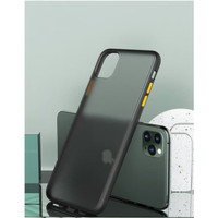 BUMPER CASE IPHONE 11 PRO MAX MATTE TRANSPARENT COVER