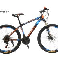 Sepeda Gunung MTB 26 Atlantis Harley Batik 69 Rem Disc Murah
