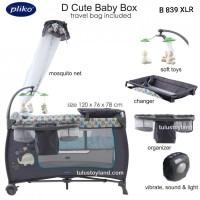 Pliko D Cute Baby Box B 893 XLR Rocking Tempat Tidur Bayi Kelambu