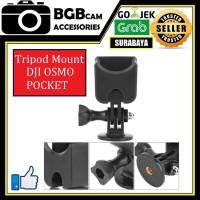 Tripod Mount Dji Osmo Pocket 1/4 inch + Mount Gopro