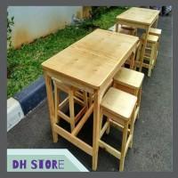 [HOT SALE] Meja Cafe atau Meja Makan Set Standard 08