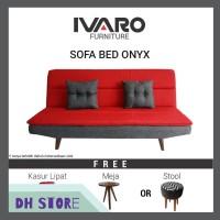 [HOT SALE] IVARO Sofa Bed Onyx 09