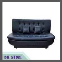 [HOT SALE] Sofa Bed Montana Pillow Black - Jabodetabek Only 05