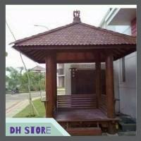 [HOT SALE] Saung gazebo taman minimalis 07