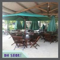 [HOT SALE] Meja & Kursi Jati Payung Taman 05