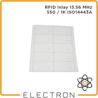 RFID Inlay 13.56 MHz S50 1K HF ISO14443A A4 Smart Card Tag 13.56MHz