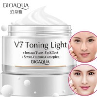Bioaqua V7 Toning Light Cream Whitening Face Vitamin Cream