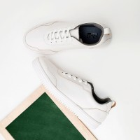 Volve Claro White - Sepatu Sneakers Casual Putih - ,