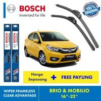 Wiper Blade BRIO & MOBILIO Bosch FRAMELESS