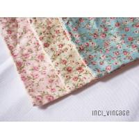 Sarung bantal kursi sofa cushion shabbychic vintage cantik motif bunga
