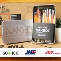 [ isi 12 kuas ] Make Up Brush Naked 3 / NAKED3 Brush Set Kit