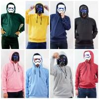 Jaket polos Hoodie Sweater Banyak Warna