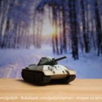 WTM 1/144 - T34/75 Soviet - World Tank Museum by Takara - dragons