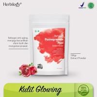 herbilogy pomegranate peel (kulit delima) extract powder