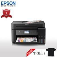 Epson L6170 Printer Wi-Fi Multifungsi - Print/Scan/Copy + T-Shirt