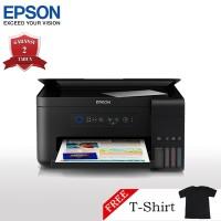 Epson L4150 Printer Wi-Fi Multifungsi - Print/Scan/Copy + T-Shirt