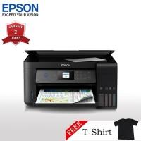 Epson L4160 Printer Wi-Fi Multifungsi - Print/Scan/Copy + T-Shirt