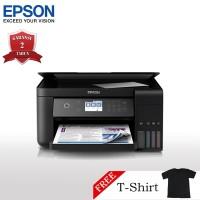 Epson L6160 Printer Wi-Fi Multifungsi - Print/Scan/Copy + T-Shirt