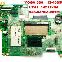 Original Lenovo yoga 500 laptop motherboard i3-4005u LT41 14217-1M 448