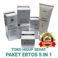 JUAL PAKET ERTOS CREAM SIANG MALAM FACIAL TREATMENT KINCLONG FACIAL