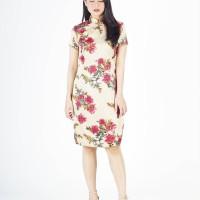 PEONY CHEONGSAM DRESS