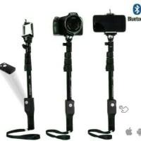 Tongsis Monopod Bluetooth Import Merk Yunteng Hitam Original [Murah]