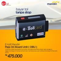 Mesin Etoll E TOLL MANDIRI E-Toll Pass On Board Unit OBU emoney