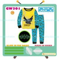 Piyama Batman Glow in the Dark Pajamas (GW 301) Teen
