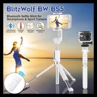 BLITZWOLF BW-BS5 BLUETOOTH TRIPOD TONGSIS SAMSUNG IPHONE MIRRORLESS -