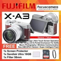 Fujifilm X-A3 Brown Kit XC 16-50mm f/3.5-5.6 OIS II - Paket 2