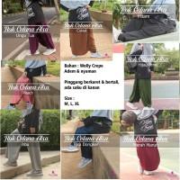 Rok Celana RONA Wolly Crepe Hijab Alsa Adem Lembut untuk Olahraga