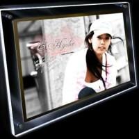 Jual Neon Box Atau Acrylic Crystal Frame Advertising