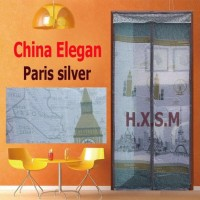 Tirai Magnet Elegan Paris Silver