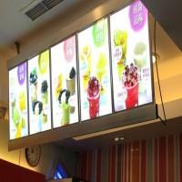 Menu Restoran Light Box - Neon Box Menu Resto Ukuran 2 Meter X 60 Cm