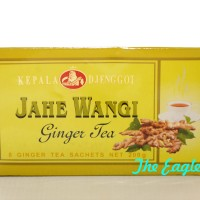 Teh Jahe Wangi ginger tea kepala djenggot SOLO 200 gr 8 sachet gardoe