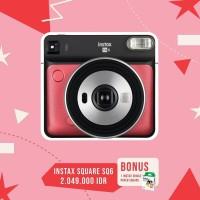 PROMO Fujifilm Instax Square SQ6 + Refill Square 20 Lembar