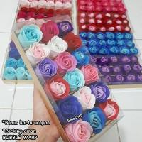 Full 18 Flower Soap, Sabun Bunga bentuk Mawar,Kado unik & murah