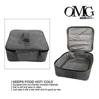 tas bekal makan OMG lunch bag waterproof hot / cold yooyee 24 x24 x9cm