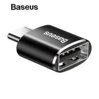 BASEUS Mini OTG USB Female To Usb Type-C Male Adapter Converter