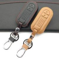 Key Cover / Sarung Kunci Kulit Leather keyless Rush Terios Veloz