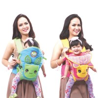 Baby Joy - Gendongan Ransel 2 in 1 Bunny Series - BJG3018
