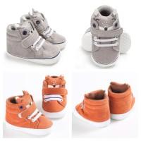Fox Boots Prewalker / Sepatu Bayi Katun Anti Slip Untuk Belajar Jalan