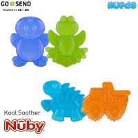 Nuby Kool Soother Water Filled Teether Mainan Gigitan Bayi 3 Bulan