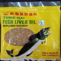 Minyak Ikan Tung Hai Fish Liver Oil 500 kapsul