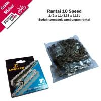 Rantai Sepeda Rante 10 Speed United RT-301