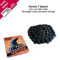 Rantai Sepeda Rante 7 Speed United RT-213