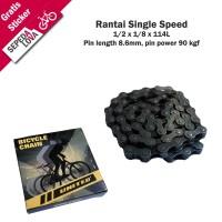 Rantai Sepeda Rante Single Speed United RT-101