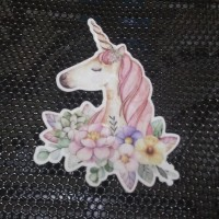 Sticker Decal Die Cut Indoor Unicorn